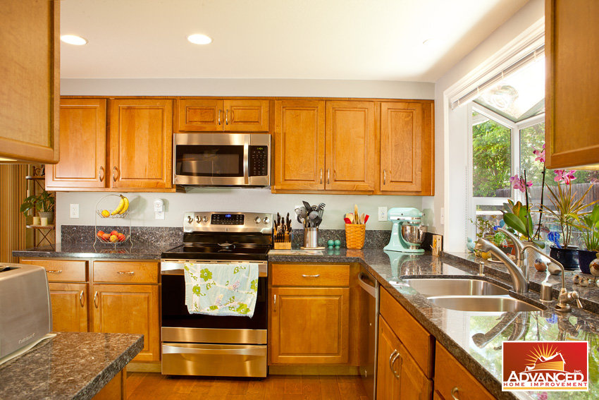 Kitchen Remodel with Bay Window - San Jose, CA - Advanced Home ...