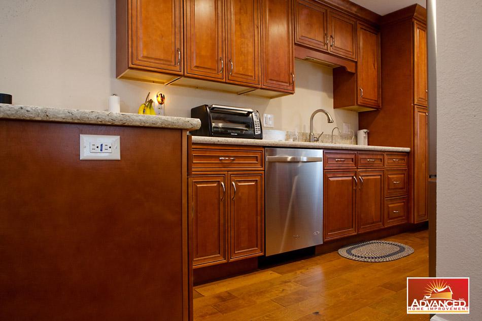 Kitchen Remodel U2013 San Jose, CA. Contemporary Design With Warm Color.