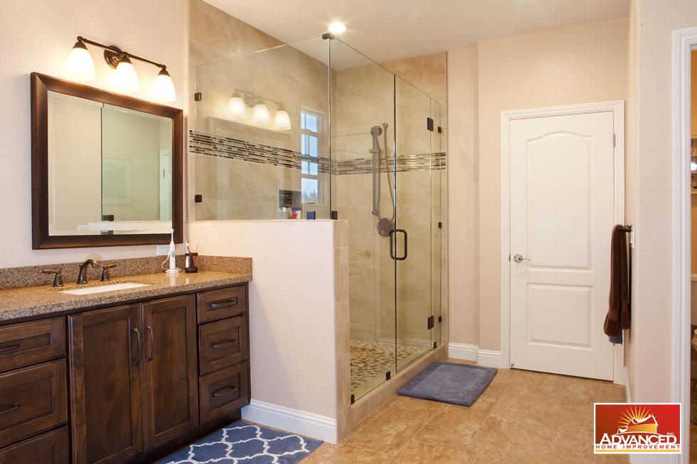 Village House - Master Bedroom & Bath Remodeling - Advanced ...
