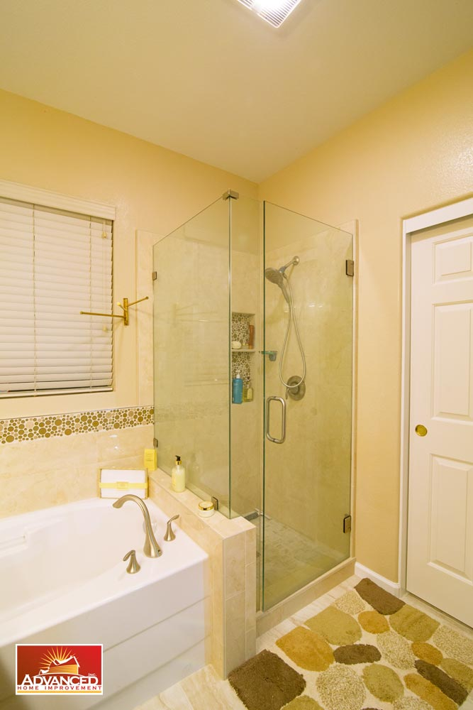 Master Bathroom Remodel U2013 San Jose, CA. Beautiful Master Bath Design With A  Warm Color, And Stylish Decor.