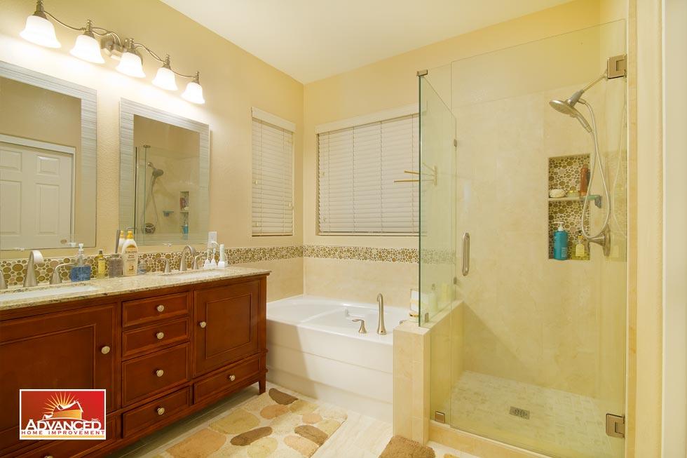 Master Bathroom Remodel San Jose CA Advanced Home Improvement Magnificent Bathroom Remodeling San Jose Ca Decoration